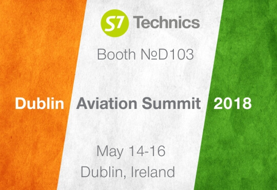 S7 Technics едет на Dublin Aviation Summit 2018