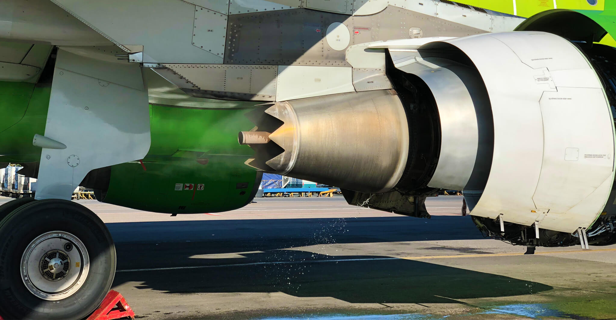 S7 Technics Holding adds engine wash capability – S7 Technics