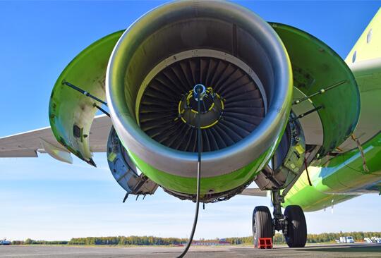 S7 Technics промоет авиадвигатели установкой Cyclean