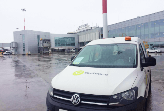 S7 Technics opens a new line station at Pulkovo