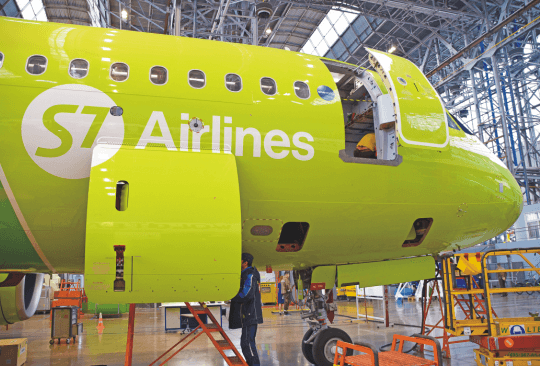 S7 Technics completes first heavy maintenance checks on A320neo aircraft