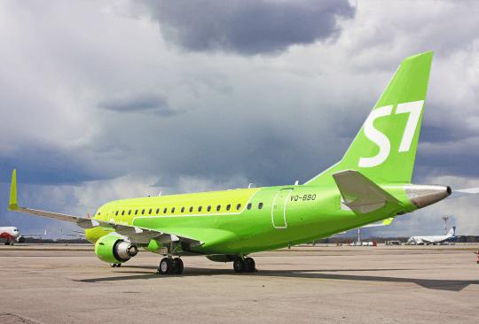 На линейной станции S7 Technics в Иркутске будут обслуживать самолеты Embraer E170
