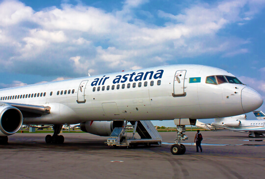 S7 Technics will perform heavy maintenance of Air Astana's Boeing 757 aircraft for the first time in Russia