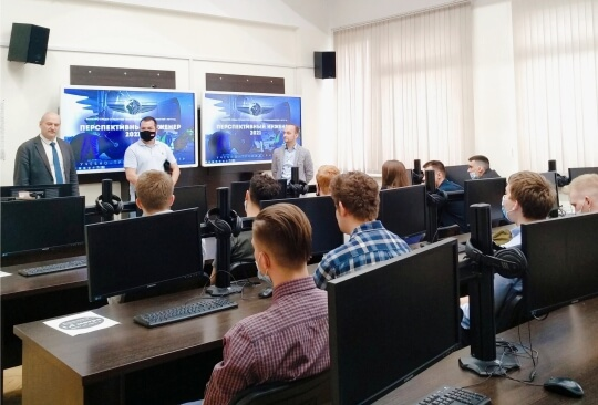 S7 Technics specialists evaluated the professional potential of MSTU CA students