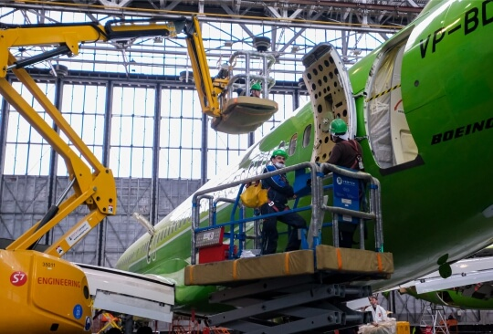 S7 Technics plans to build an aircraft maintenance center in St. Petersburg