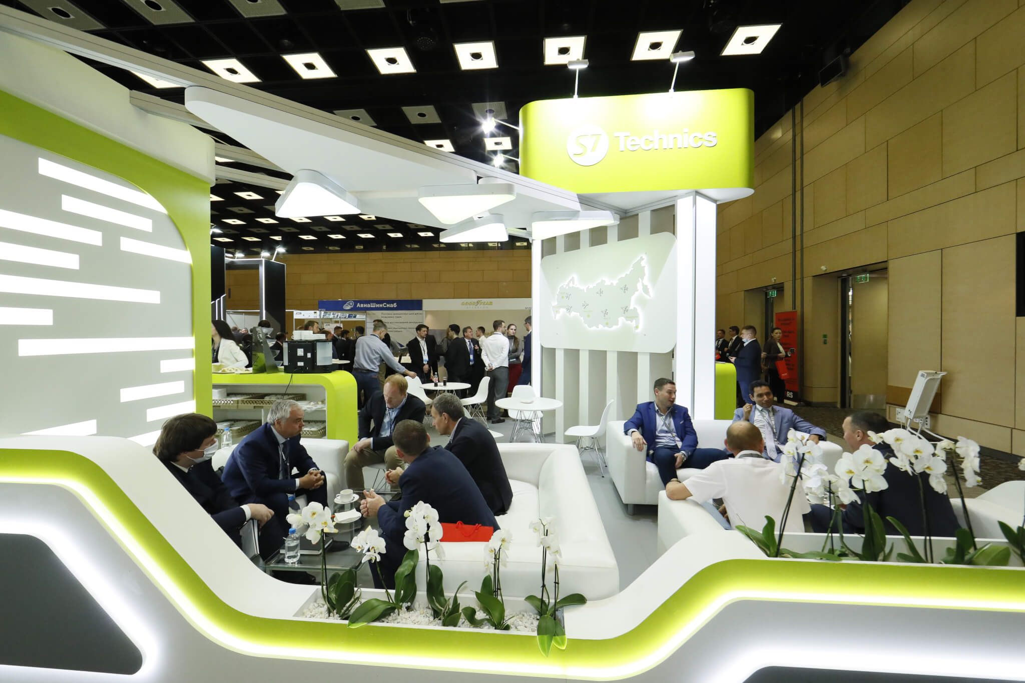 S7 Technics took part in the MRO Russia & CIS 2021 exhibition and conference